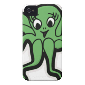 lady octopus lashes iPhone 4 cover