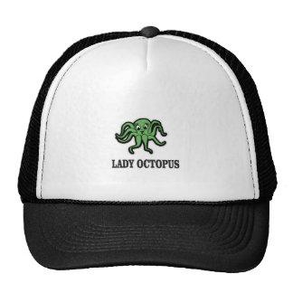 lady octopus yeah trucker hat