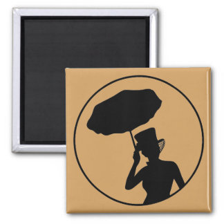 Lady of Ashes Magnet, Gold Magnet