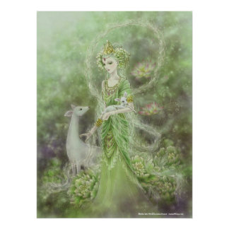 Lady of Compassion Art Print