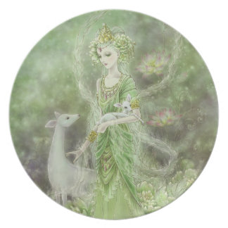 Lady of Compassion Plate