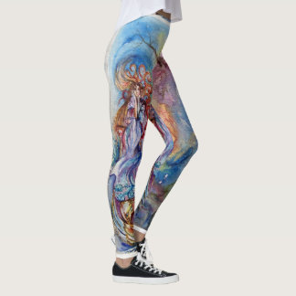 LADY OF LAKE / Magic and Mystery, Fantasy Leggings