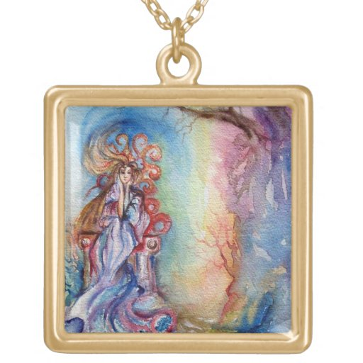 LADY OF LAKE  / Magic and Mystery Personalized Necklace