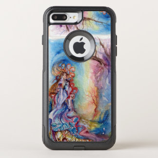 LADY OF LAKE / Magic and Mystery Pink Blue Fantasy OtterBox Commuter iPhone 8 Plus/7 Plus Case