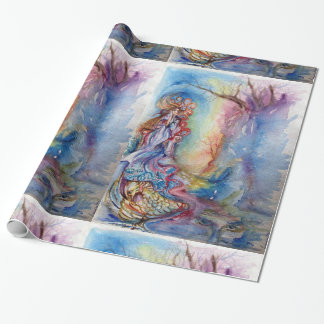 LADY OF LAKE  / Magic and Mystery Wrapping Paper