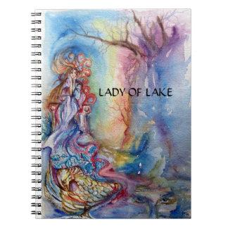 LADY OF LAKE NOTEBOOK