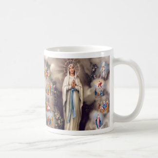 Lady of Lourdes Coffee Mug