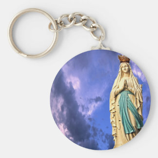 Lady of Lourdes Keychain