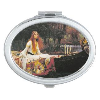 Lady of Shallot Mirror Travel Mirror