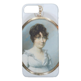 Lady of the Blunt Family (w/c and gouache on ivory iPhone 7 Case