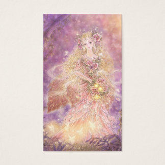 Lady of the Forest Fantasy Art Business Card