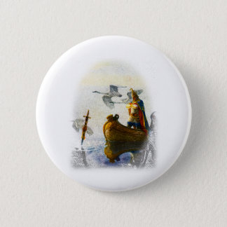 Lady of the Lake 2 Inch Round Button