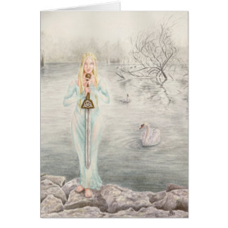 Lady of the Lake by Deanna Bach Art Card