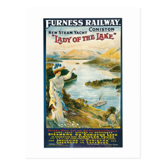 Lady of the Lake ~ Furness Railway Postcard
