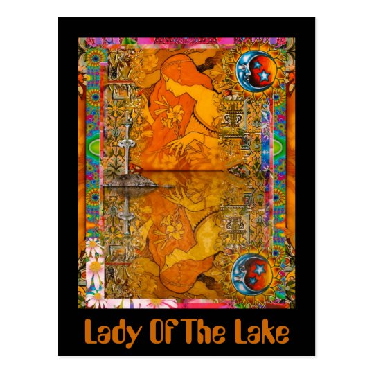 Lady Of The Lake Postcard
