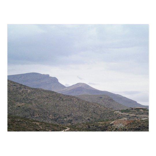 Lady of the Mountain Alamogordo New Mexico Postcard
