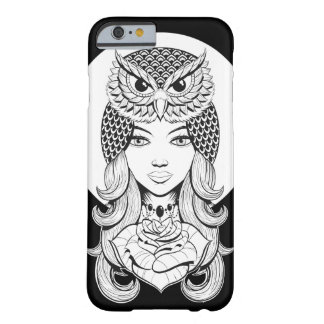 Lady of the Night Barely There iPhone 6 Case