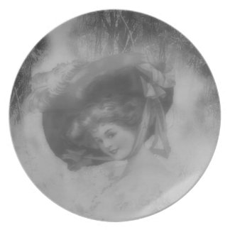 Lady of the Past plate
