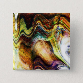 Lady of the Shells 2 Inch Square Button