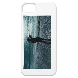 Lady On A Beach iPhone 5 Cases