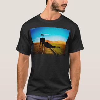 Lady On The Rails T-Shirt