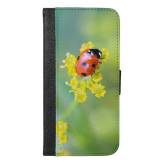 lady on top iPhone 6/6s plus wallet case