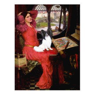 Lady - Papillon 1 Postcard