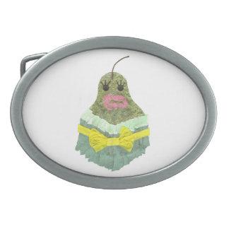 Lady Pear Buckle Belt Buckle