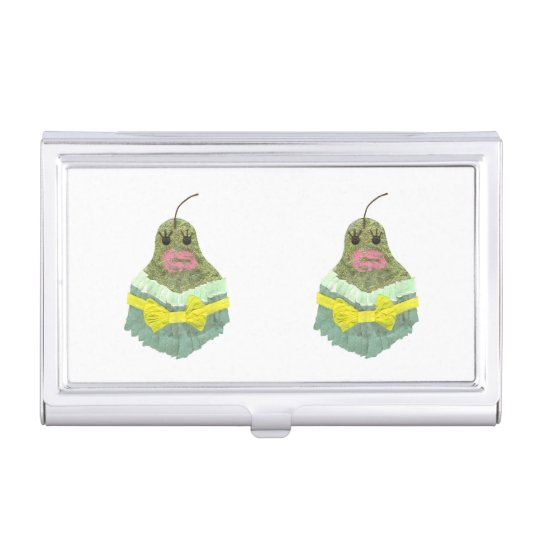 Lady Pear Business Card Holder