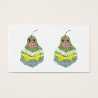 Lady Pear Business Cards