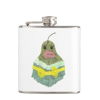 Lady Pear Flask