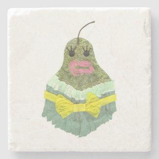 Lady Pear Marble Coaster