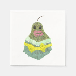 Lady Pear Napkins Paper Napkin