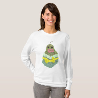 Lady Pear No Background Women's Jumper T-Shirt