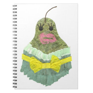 Lady Pear Notebook