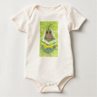 Lady Pear Organic Babygro Baby Bodysuit
