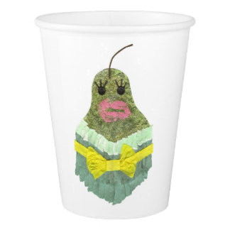 Lady Pear Paper Cup
