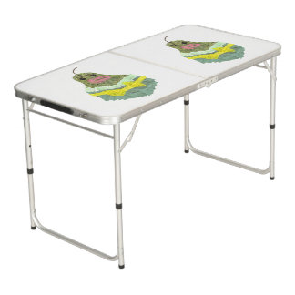 Lady Pear Ping Pong Table