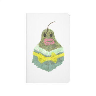 Lady Pear Pocket Journal
