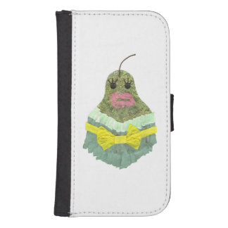 Lady Pear Samsung Galaxy 4 Wallet Case