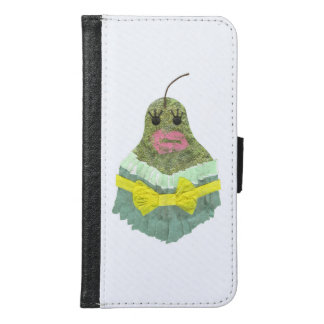 Lady Pear Samsung Galaxy S6 Wallet Case