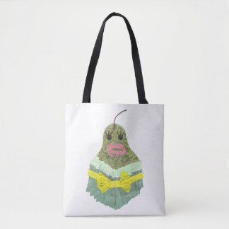 Lady Pear Tote Bag