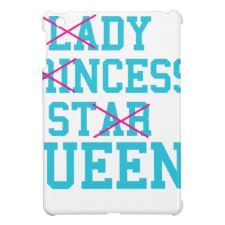 Lady princess star queen iPad mini case