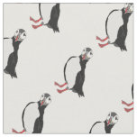Lady Puffin Fabric