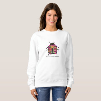 Lady Quilt Bug Sweatshirt
