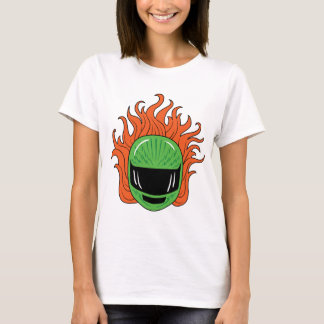 Lady Rider - Green T-Shirt