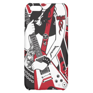 Lady Rocker iPhone 5C Cases