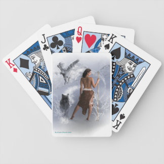 Lady Shaman Bicycle Playing Cards