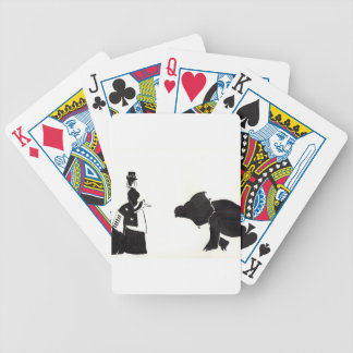 Lady Shops For A Monster Poker Deck