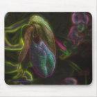 Lady Slipper Digital Art Flower Photo Mousepad